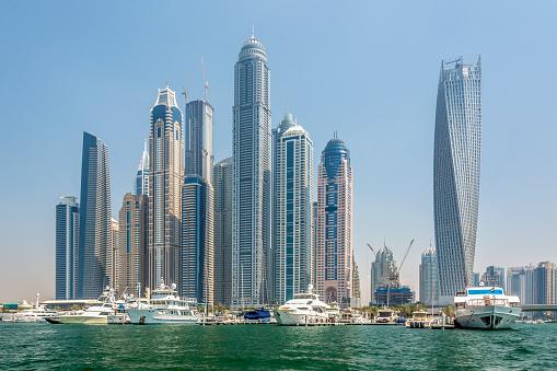 Dubaï marina skyline