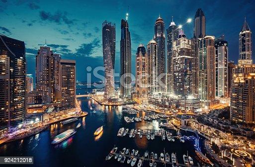 Beautiful Dubai city
