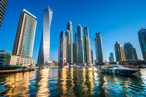 Dubai Marina, United Arab Emirates.