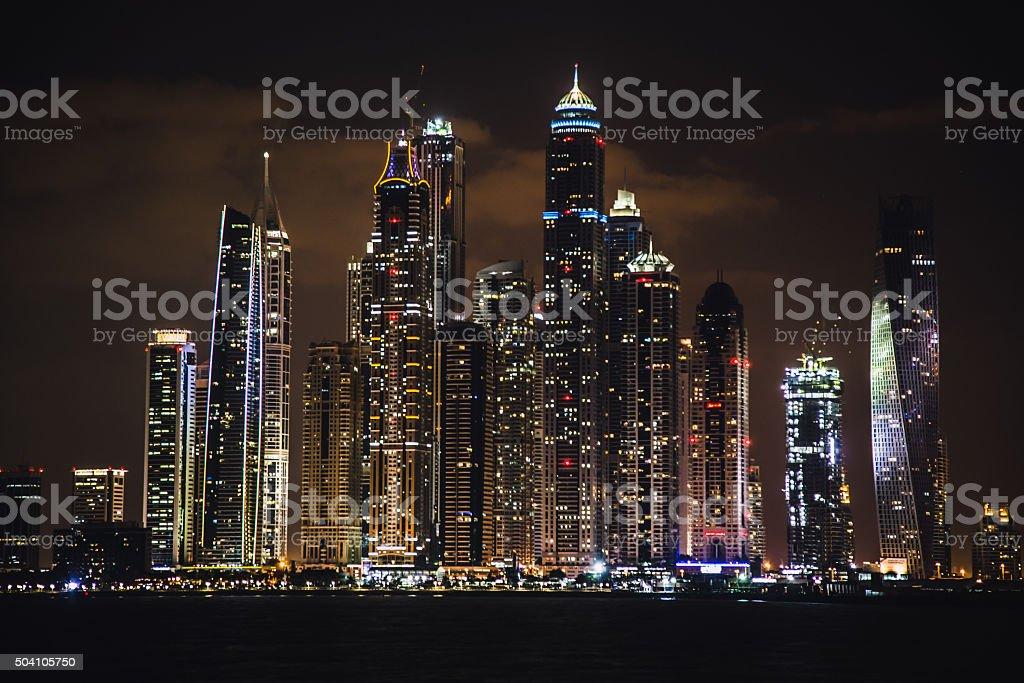 Dubai Marina, United Arab Emirates stock photo