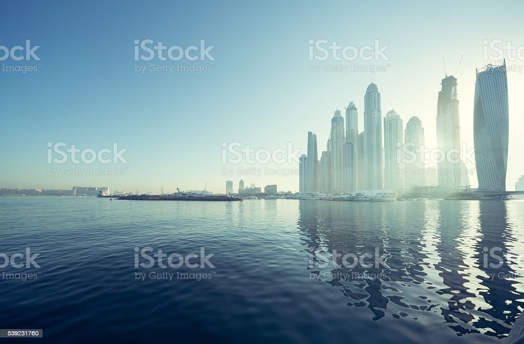 Dubai Marina, United Arab Emirates royalty-free stock photo
