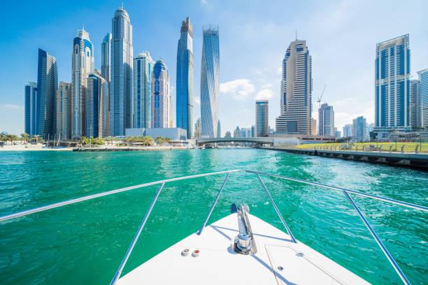 Städtischen Skyline von Dubai Marina – Foto