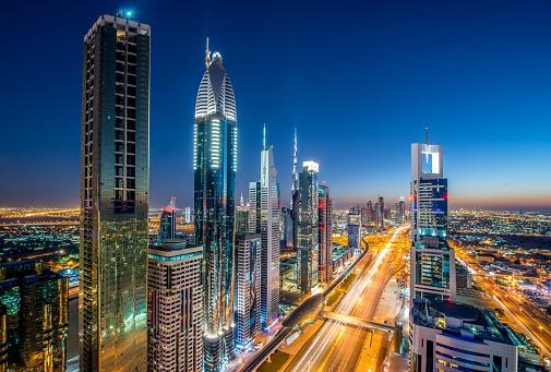 Dubai Megacity Stock Photo - Download Image Now