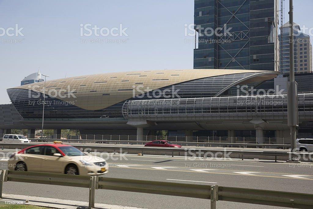 Dubai Metro Station royalty-free stock photo