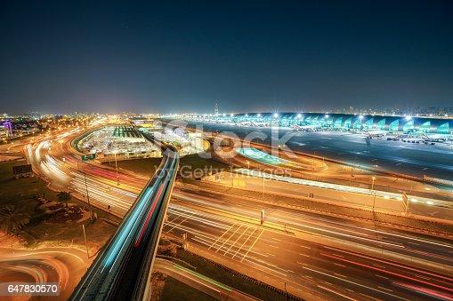 Dubai Metro to Airport