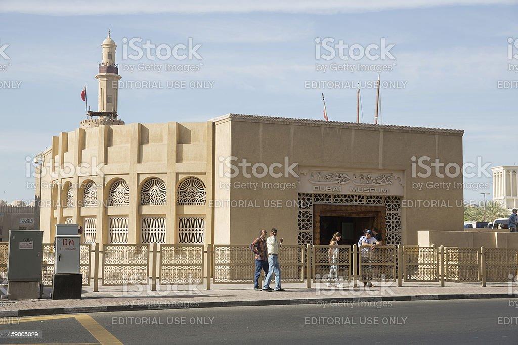 Dubai Museum royalty-free stock photo