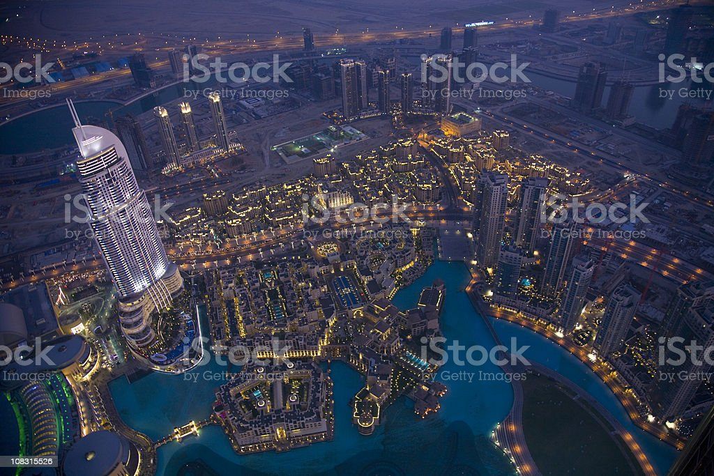 Dubai royalty-free stock photo