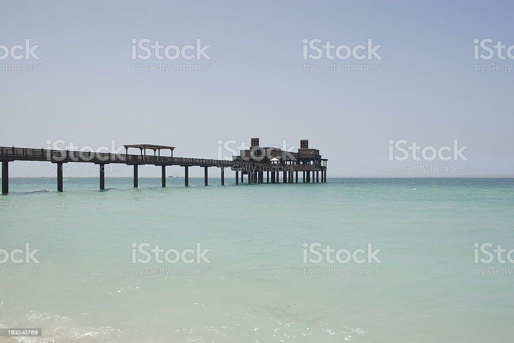 Dubai: Pier stock photo