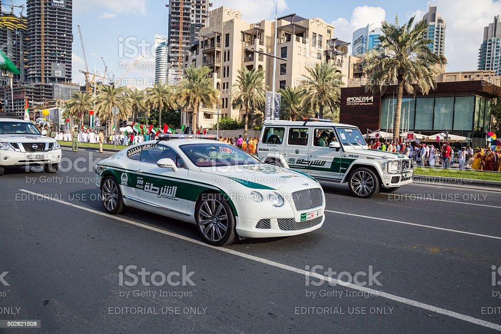 Dubai Police Cars Stock Photo - Download Image Now - iStock