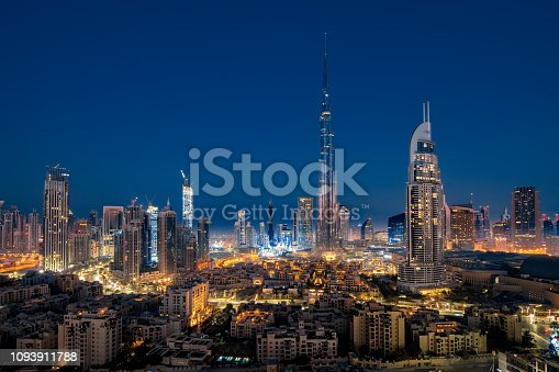 Cityscape, Arabia, Dubai, Middle East, Persian Gulf Countries, Skyscraper, City