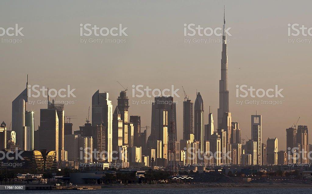 Dubai Skyline royalty-free stock photo