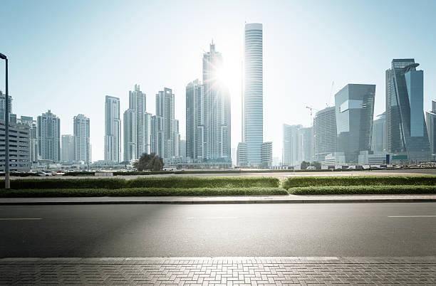skyline von Dubai, Vereinigte Arabische Emirate – Foto