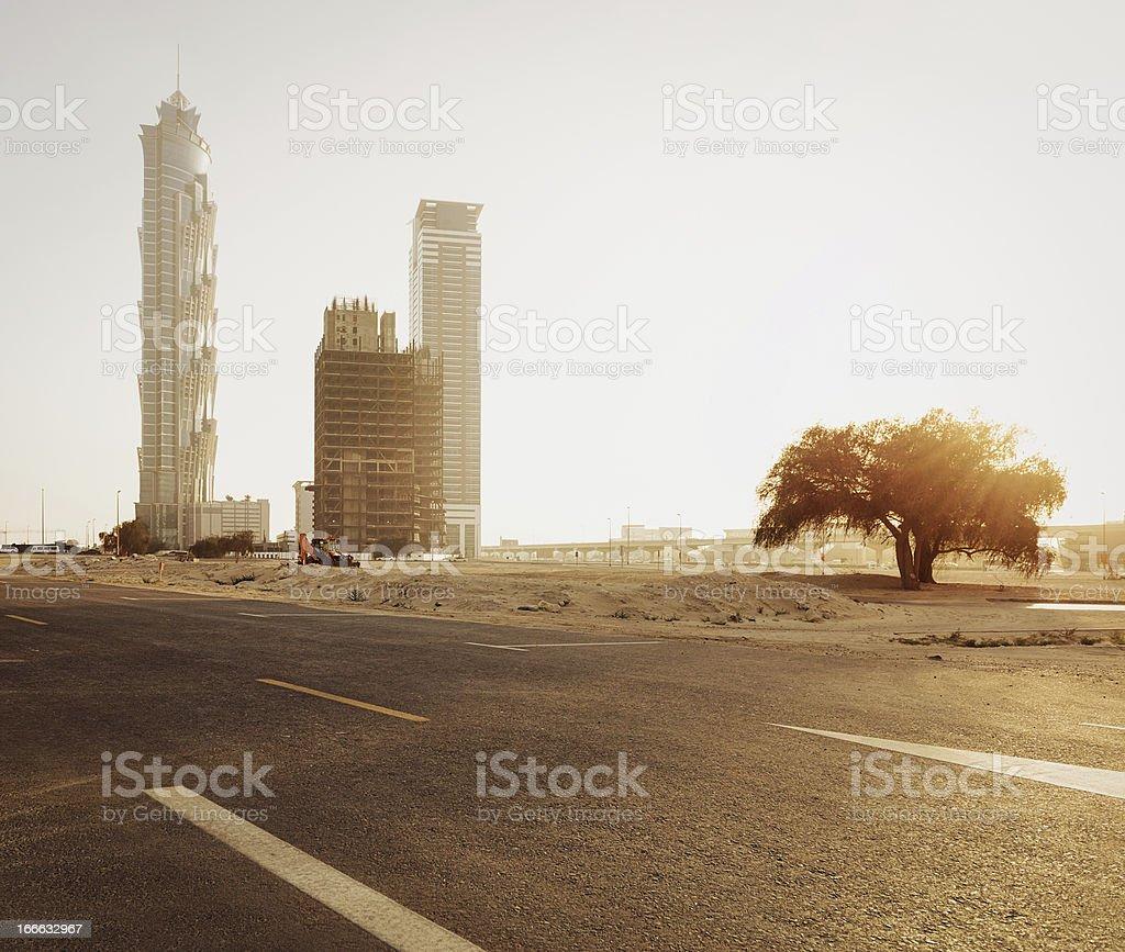Dubai Skyscraper royalty-free stock photo