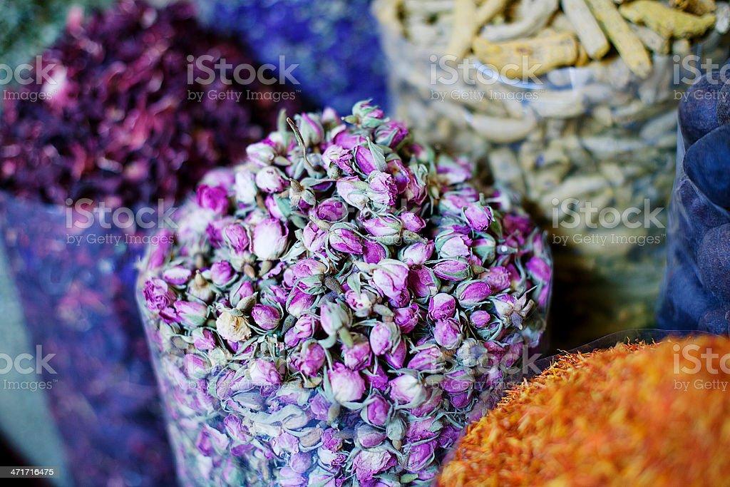 Dubai Spice Souk stock photo