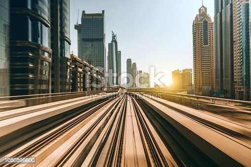 Dubai Train Speed