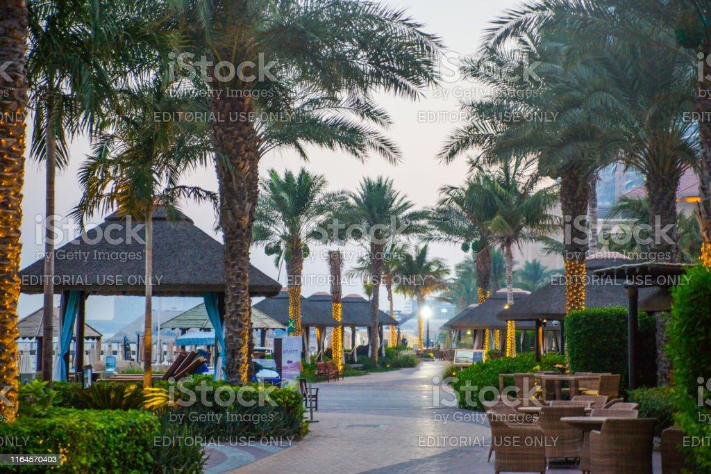 Dubai, UAE, United Arab Emirates - 31 May, 2019: Sofitel hotel...