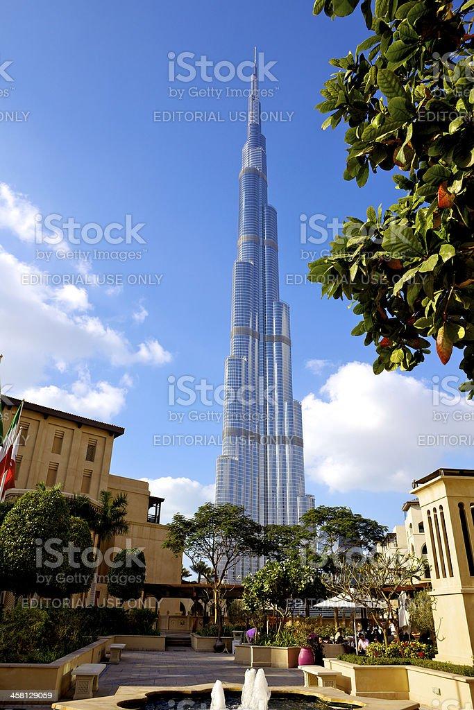 Dubai, UAE - Burj Khalifa royalty-free stock photo