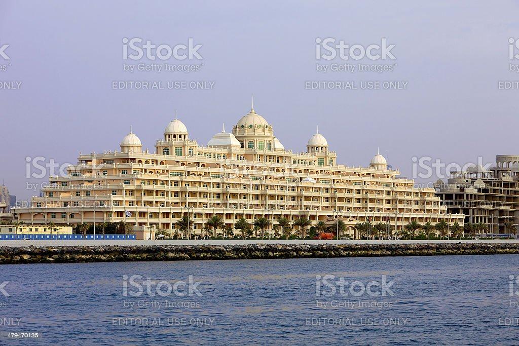 Dubai, UAE - Kempinski Hotel and Residences, The Palm stock photo