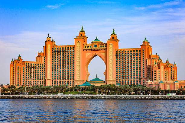 Atlantis, The Palm, Dubai - foto de stock