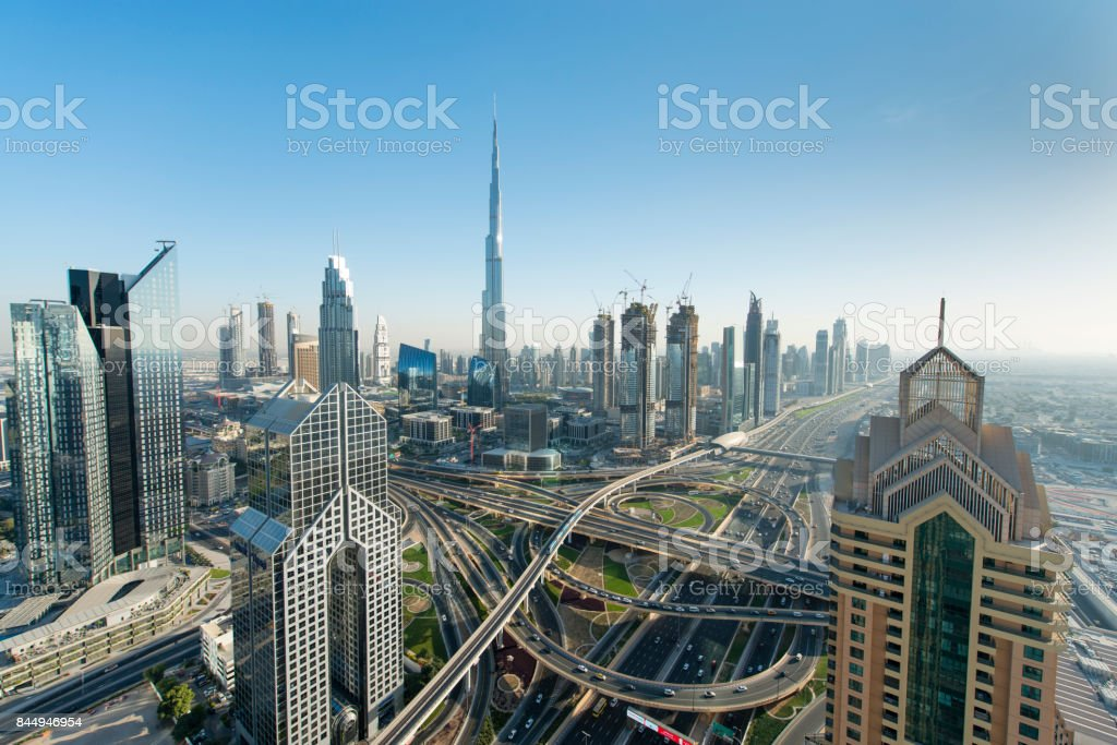 Dubai United Arab Emirates stock photo