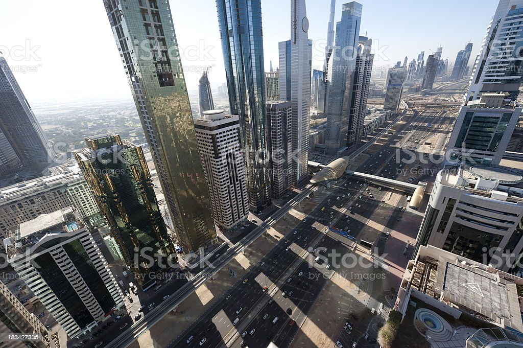 Dubai Winter morning royalty-free stock photo
