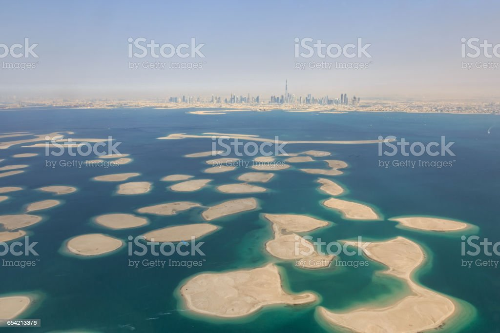 Dubai World in Dubai stock photo