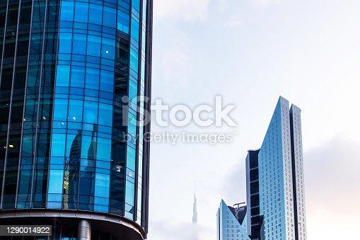 istock Dubai's Modern Skyscrapers 1290014922