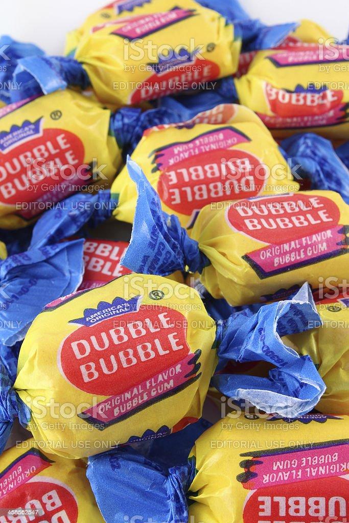 Dubble Bubble Gum royalty-free stock photo