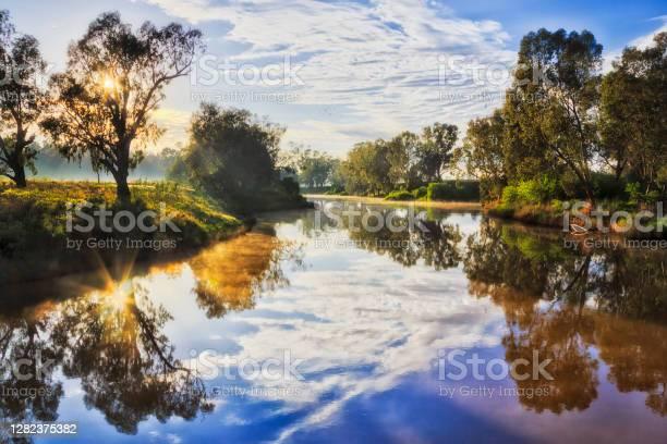 Photo of Dubbo rail river start reflection