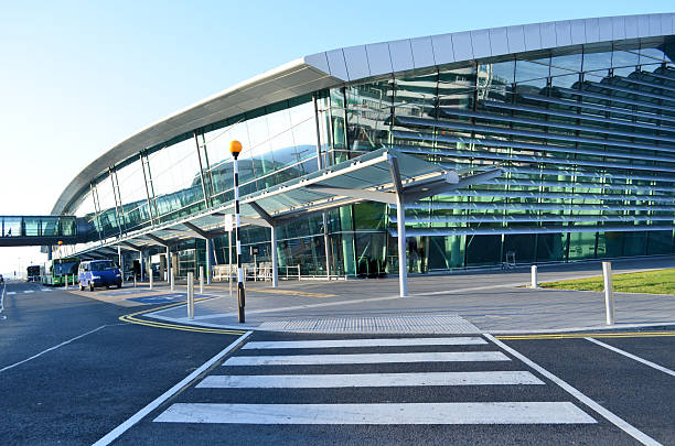 Dublin Airport stock photo