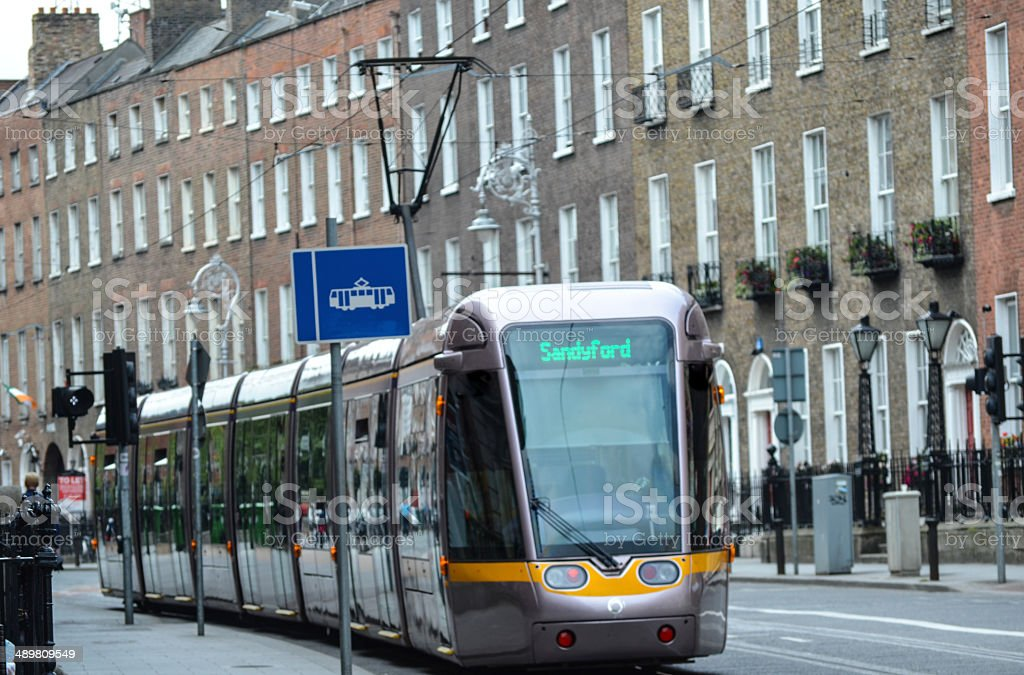 Dublin Luas stock photo