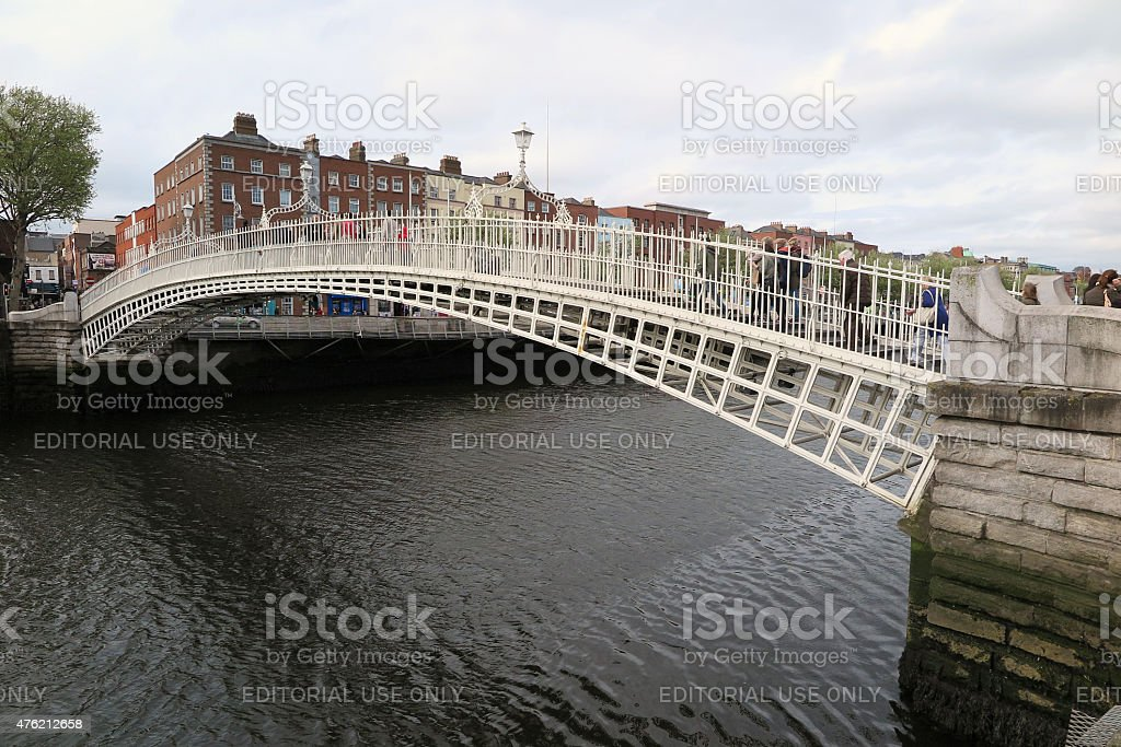 Dublin Attractions, May, 2015 stock photo