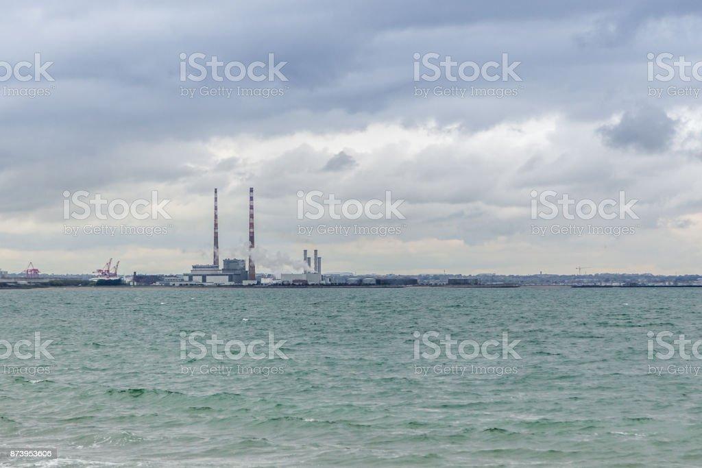 Dublin Bay Industry stock photo