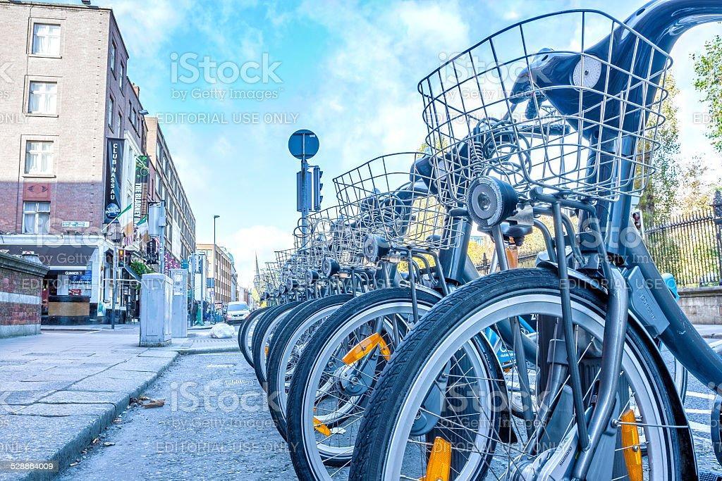 Dublin Bikes stock photo