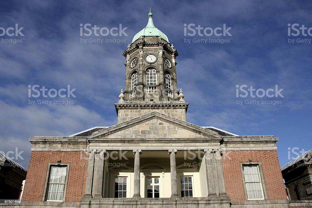 Dublin castle royalty-free stock photo