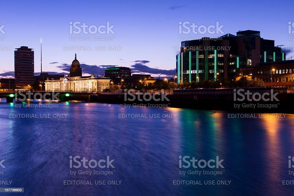 Dublin City Centre stock photo