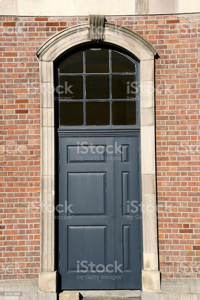 Dublin door royalty-free stock photo
