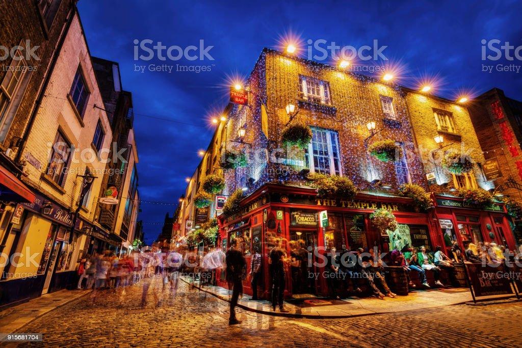 Dublin, Ireland - July 20th 2015 stock photo