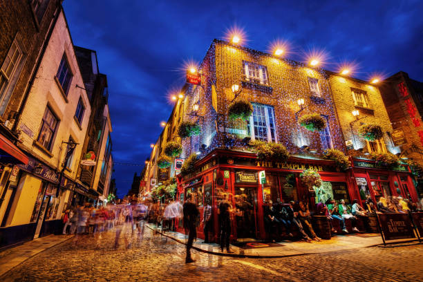 Dublin, Ireland - July 20th 2015 stock photo
