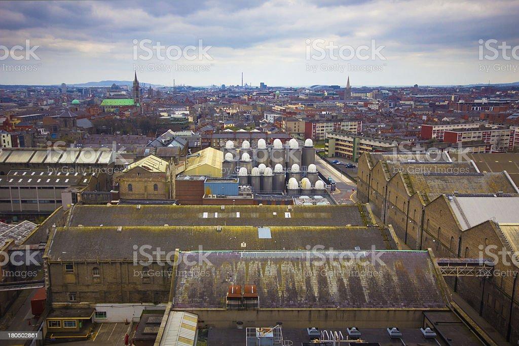 Dublin Ireland royalty-free stock photo