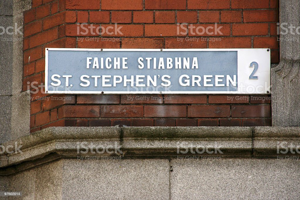 Dublin royalty-free stock photo