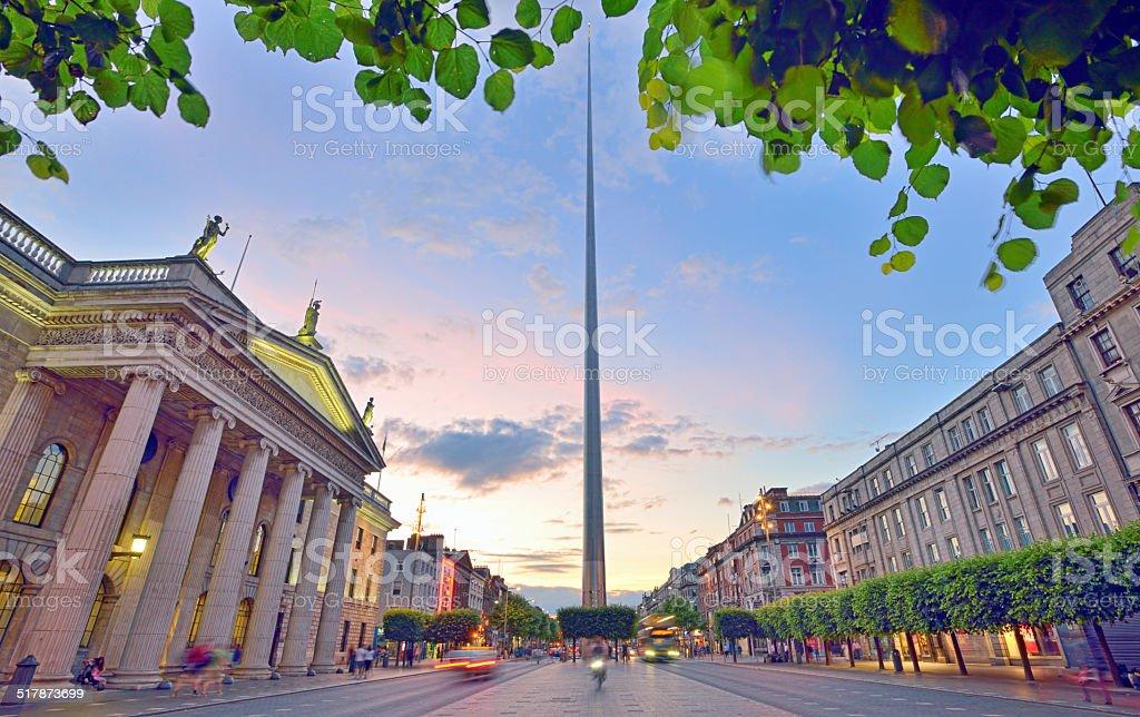 Dublin Spire stock photo