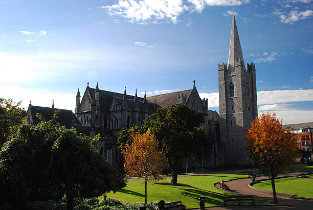 Dublin - St. Patrick's Cathedral. - foto stock