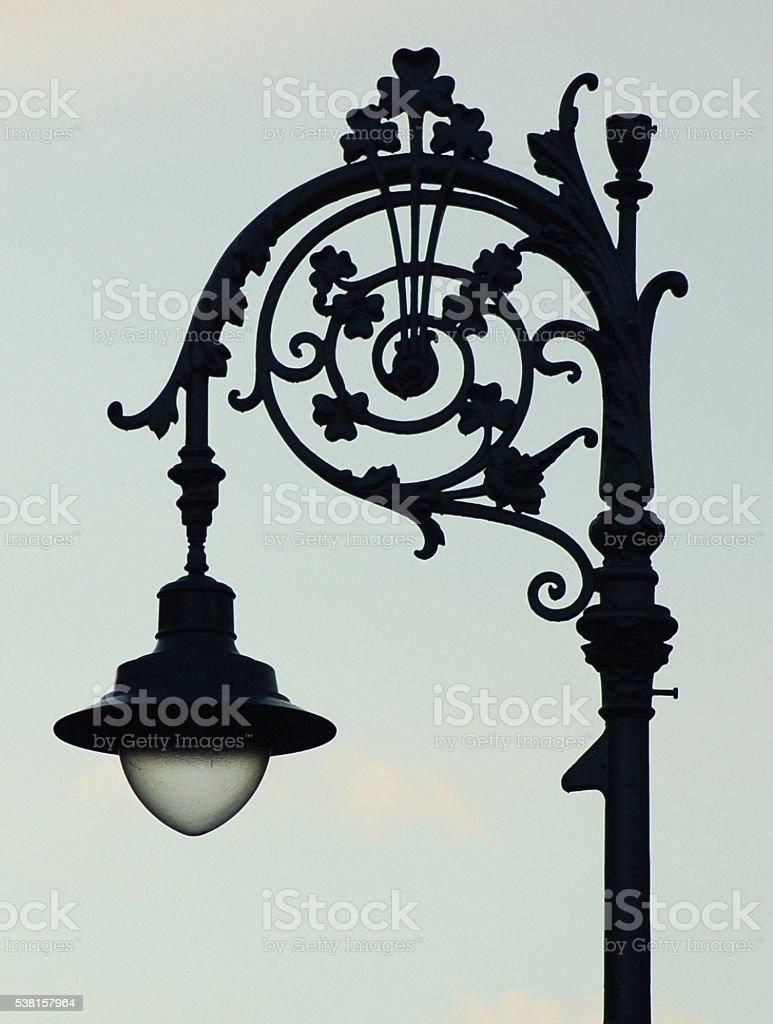 Dublin Street Light stock photo