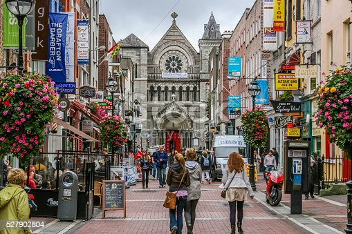 istock Dublin's Grafton Street 527902804