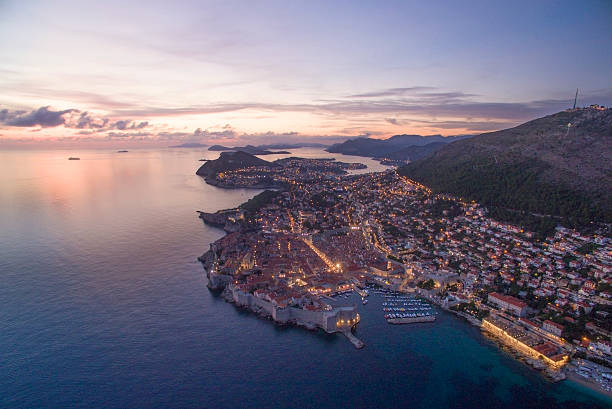 Dubrovnik in der Dämmerung – Foto