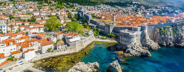 Dubrovnik Stadtbild Küste Panorama. – Foto