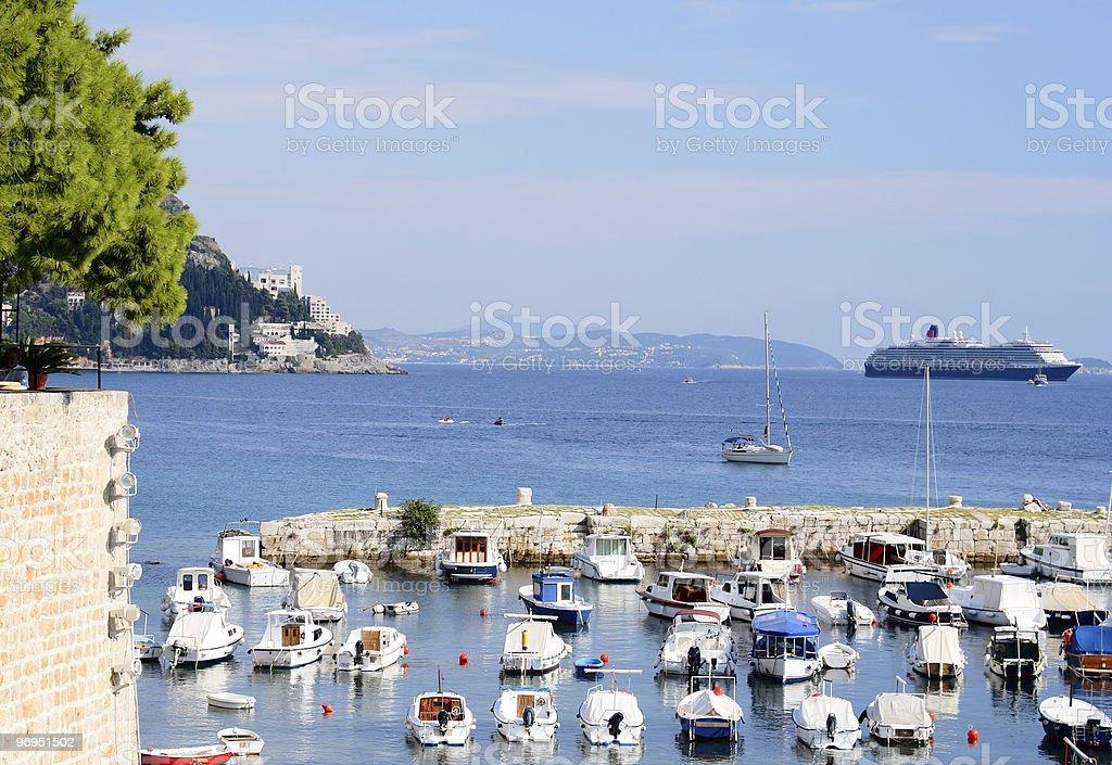 Dubrovnik Coast royalty-free stock photo