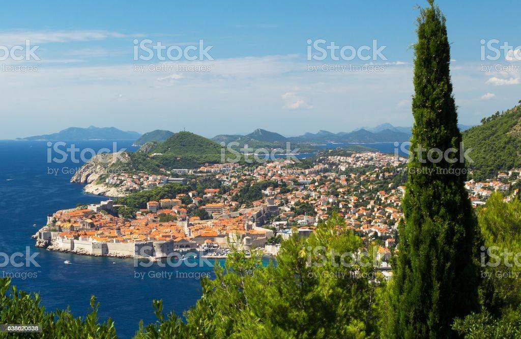Dubrovnik Croatia harbor beautiful landscape – zdjęcie