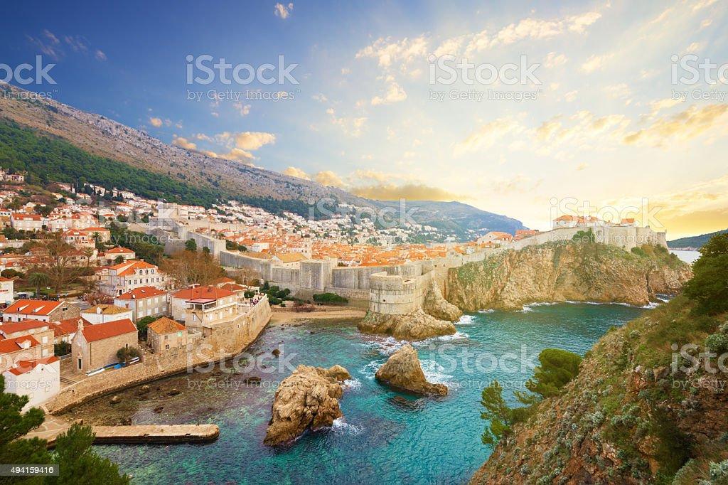 Dubrovnik. Croatia. stock photo